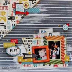 Boys Rule Scrapbook Kits: Go, Laugh, Play with Laura
