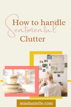 "I'm willing to bet you have some sentimental belongings but do you have sentimental ""clutter""? And what are you supposed to do with sentimental items when you're working toward a clutter-free space? I answer all of these questions: · Real sentimental vs. ""faux"" sentimental · The dilemma of hand-me-downs · Emotional clutter · Kid sentimental stuff · Your partner's sentimental stuff · What to do with the truly sentimental stuff you want to keep Declutter Your Home, Organize Your Life, Emotional Clutter, Welcome To The Group, Clutter Free Home, Free Space, Feeling Overwhelmed, Life Organization, Live For Yourself"