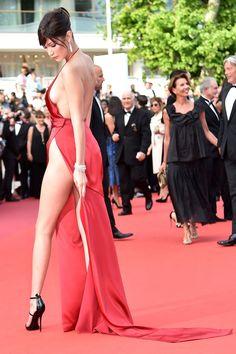 "Bella Hadid at the Premiere of ""La Fille Inconnue"", Cannes (2016)"