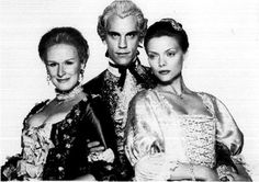 Dangerous Liaisons Group Picture Black and White Premium Art Print