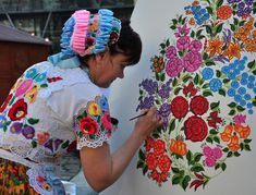 A very brief history of Hungarian embroidery.
