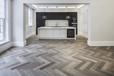 Redington Road, Hampstead using products from the Design from Havwoods range. Speak to a member of our sales team for further information. Kitchen Room Design, Home Decor Kitchen, Kitchen Interior, Home Interior Design, Interior Architecture, Living Room Flooring, Kitchen Flooring, Home Living Room, Wood Flooring