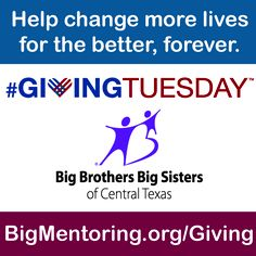 Today is #GivingTuesday!!! Support kids in Central Texas