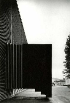 Shelter for Roman Ruins, Chur, Graubünden, Switzerland. Peter Zumthor 1986
