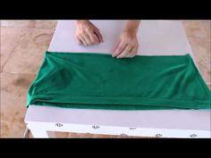 DIY | Turbante com camiseta - YouTube