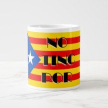 NO TINC POR GIANT COFFEE MUG