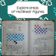 Interactive Math Notebook / Journal activities for 3rd Grade Geometry.
