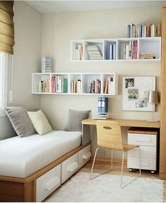 34 Best Small Bedroom Ideas On A Budget , If you're on a budget and attempting to find room design suggestions for a little space, think about purchasing multi-functional pieces. , Bedroom ideas 34 Best Small Bedroom Ideas On A Budget Tiny Bedroom Design, Small Room Design, Modern Bedroom, Bedroom Decor, Bedroom Themes, Trendy Bedroom, Bedroom Romantic, Comfy Bedroom, Design Design