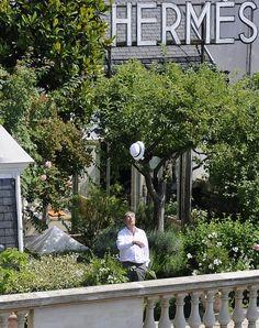 Hermes Rooftop Garden, Paris.