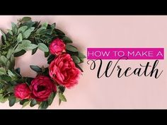 Looking for ways to decorate your home for every season? Follow this simple DIY and learn how to make a wreath for your door. This wreath tutorial will show y