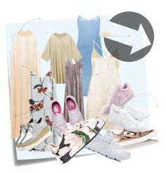 """undress me no"" by lazygadabout on Polyvore featuring moda, Post-It, Nina Ricci, Miss Selfridge, Vans, Puma, NIKE, Dolce&Gabbana i adidas Originals"