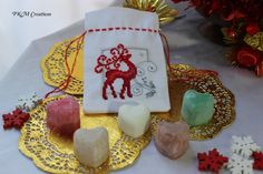 Fragrant Satchel - Red Reindeer, AU$15.00