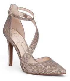 036144e0f3d Shop for Jessica Simpson Castana Glitter Mesh d´Orsay Pointed Toe Pumps at  Dillards.com. Visit Dillards.com to find clothing