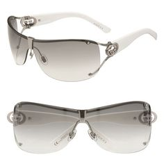 Gucci Shield Sunglasses with Crystal Logo .. nordstrom