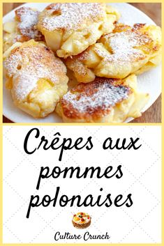 Gâteau Pomme caramel - New ideas French Sweets, French Desserts, No Cook Desserts, Easy Desserts, Dessert Recipes, Crepes, Desserts With Biscuits, Easy Cooking, Cooking Recipes