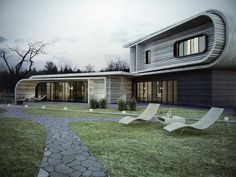 S-house by KO+KO architects , via Behance