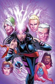 Anna Marie (ROGUE) and Astonishing X-MEN Characters | PORTFOLIO: Anna Marie (ROGUE)