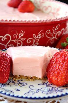 Strawberry Cream Cheese Pie Summer Dessert Recipes, Just Desserts, Delicious Desserts, Strawberry Cream Cheese Pie, Strawberry Desserts, Strawberry Cheesecake, Baked Strawberries, Strawberries And Cream, Tart Recipes