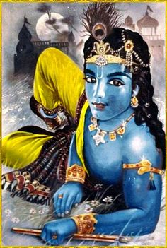Krishna The Blue God