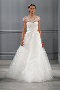 Something Tiffany Blue by MissBeckyB.   Wedding Blog: ABITI DA SPOSA 2014: COLLEZIONE MONIQUE LHUILLIER