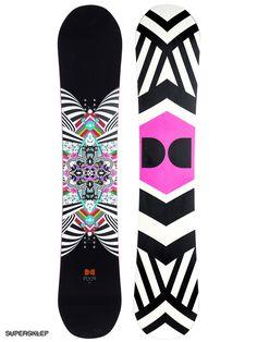 Deska snowboardowa DC Ply J Wmn (black/white pink)