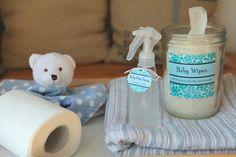 Make DIY All-Natural Baby Wipes