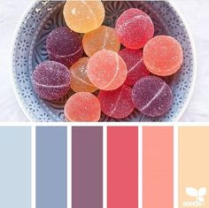 Colour palette from Design Seeds. Design Seeds, Colour Schemes, Color Combos, Coral Colour Palette, Purple Colors, Pastel Palette, Pastel Colours, Warm Colors, Color Palate
