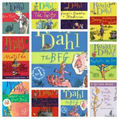 Top 10: Roald Dahl Books for Roald Dahl Day!  It's September 13th and these are our favorite books. My daughter loved Roald Dahl in third grade and read nearly all of them.