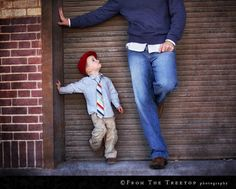 such a cute father and son shot!