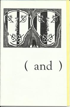 ( and )  the collaboration chapbook  Between Greg Fitzsimmons & Mark Sonnenfield  East Windsor, NJ  2000