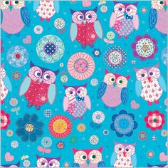 owl pattern ♥ Clare Maddicott