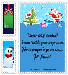 buscar postales para enviar en Navidad a mi hermano,buscar imàgenes para enviar en Navidad a mi hermano: http://www.consejosgratis.net/carta-para-mi-hermana-en-navidad/