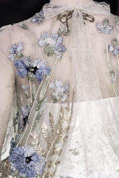 pivoslyakova: Detail at Christian Lacroix | Haute Couture, Spring 2006.