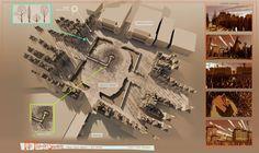 carlos zaragoza▪production designer - MR. PEABODY & SHERMAN / 2014 / DreamWorks Animation / Visual development artist Paris Town Square / Design & 3D sketches