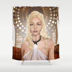 Game of Thrones - Daenerys Targaryen Shower Curtain