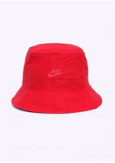 0e2a37f6d37 Nike Apparel Logo Bucket Hat - Red