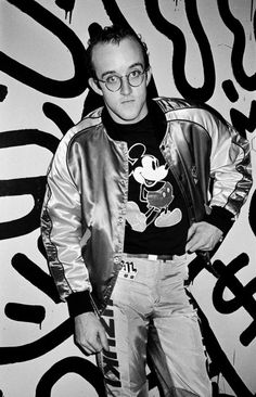 Keith Haring by Roxanne Lowit