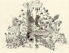Grotesque Flora and Fauna No. 2 by Jon Macnair