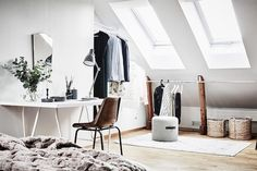 A Swedish home with inspiring ideas for tight spaces