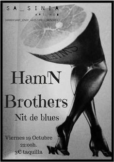 El viernes 19, traete el pan y tus gafas mas bluseras, que la musica la ponen estos hermanos guitarreros. Art Hub, Brother, Movies, Movie Posters, Siblings, Friday, Eyeglasses, Musica, Films