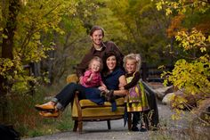 fall family photography - Love pose setting and clothes