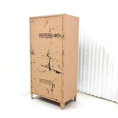 Vintage Industrial Storage Cabinet Large Heavy Duty Steel Cabinet Garage Mud Room Kitchen Workshop Storage by AlegriaCollection on Etsy https://www.etsy.com/listing/225436911/vintage-industrial-storage-cabinet-large
