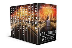 Fractured Worlds: Ten YA Dystopian Novels by [Murray, Dean, Kyss, Anna, Nowak, Lisa, Dalton, Sarah, Kersey, Christine, Stone, Nirina, Hardison, Inna, Baum, S.L., Moody, Alexandra, Boland, Shalini]
