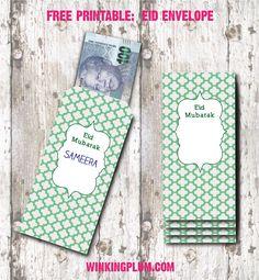Winking Plum: DIY Eid Envelopes (Free Printable)