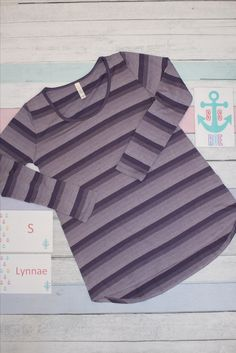 Beautiful purple ombre striped Lynnae <3