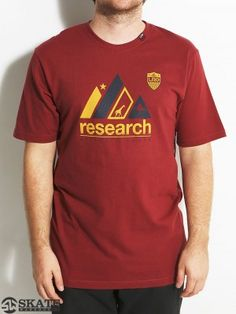 LRG Research Roots Tee Maroon MD