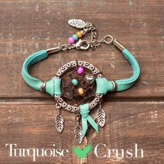 Dreamcatcher Boho Jewelry Bohemian Turquoise. by TurquoiseCrush