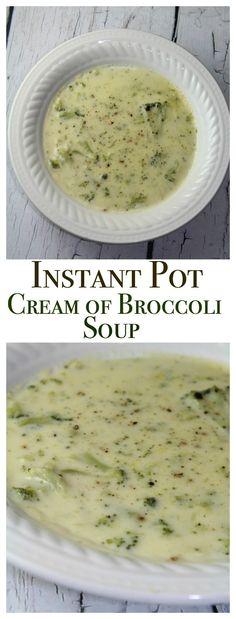 Easy Cream of Broccoli Soup                                                                                                                                                      More
