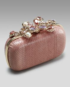 Nina Ricci  Jeweled Minaudiere