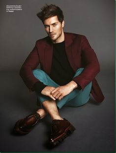   CoverMen Blog... great color combo